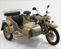 Ural Motorcycle w/ Sidecar