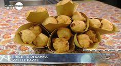 La ricetta delle pizzelle pazze proposta da Samya a Mattino Cinque il 2 marzo 2015.