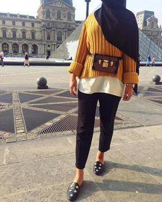 33 trendy ideas for fashion hijab style chic Islamic Fashion, Muslim Fashion, Modest Fashion, Hijab Fashion, Fashion Outfits, Fashion Advice, Modest Outfits Muslim, Modest Wear, Modest Dresses