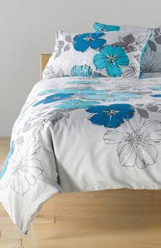 KAS Designs 'Clara' Duvet Cover & Shams available at Duvet Sets, Duvet Cover Sets, Bed Covers, Pillow Covers, Bedroom Colors, Bedroom Decor, New Room, Interiores Design, Pillow Shams