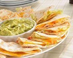 Quesadillas au fromage Ingrédients