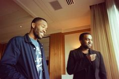 Kanye West met up with Odd Future's Frank Ocean and Tyler, the Creator while down under in Australia