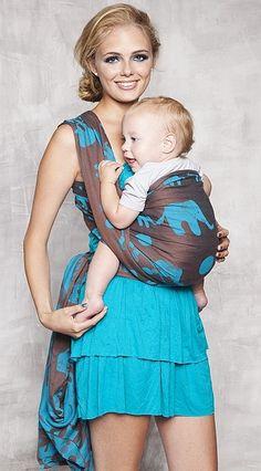 6bbe3b346c3 Kokadi Elephantedparade Woven Wrap Baby Sling Wrap