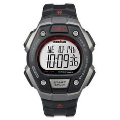 TIMEX Ironman Core 50 Full Size Watch Black  One Size