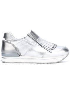 HOGAN Fringed Trainers. #hogan #shoes #sneakers