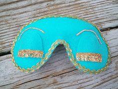 sleeping mask from Breakfast at Tiffany's