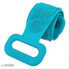 Checkout this latest Body Scrubbers & Brushes Product Name: *Silicone Bathing Brush Exfoliating Back Scrubber for Shower Skin Deep Cleaning (Multicolor, Pack of 1)* Product Name: Silicone Bathing Brush Exfoliating Back Scrubber for Shower Skin Deep Cleaning (Multicolor, Pack of 1) Brand Name: Others Material: Silicone Multipack: 1 Country of Origin: India Easy Returns Available In Case Of Any Issue   Catalog Rating: ★4 (1524)  Catalog Name: Shopeleven Useful Body Scrubbers & Brushes CatalogID_3830445 C177-SC1970 Code: 961-18745258-726