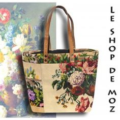 "ToteBag Blessings~""Old Fashion Vintage Farmer's Wife""~Beautiful bag by leshopdemoz.com"
