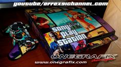 cool Tutorial [Playstation 3/GTA V] - Applicazione Pores and skin adesive Console Wrapping Stickers Software