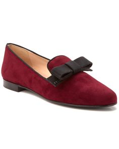 Prada Suede Ribbon Bow Loafer  Women #Shoes