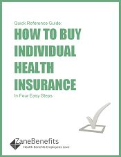 Helpful quick eBook (free download). How to buy individual health insurance. @Zane Benefits