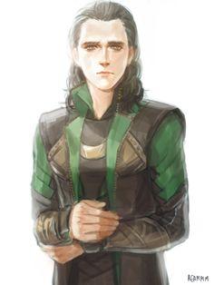 Sad Loki in Thor: The Dark World's costume.