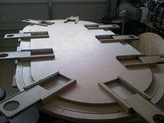Poker Table Plans | Printable Poker Table Plans