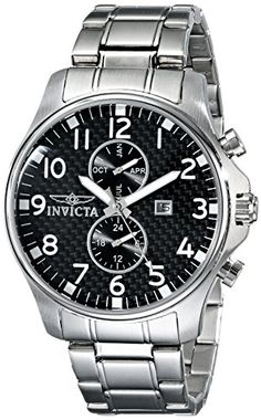 Now in stock Invicta Men's 0379 II Collection Stainless Steel Watch