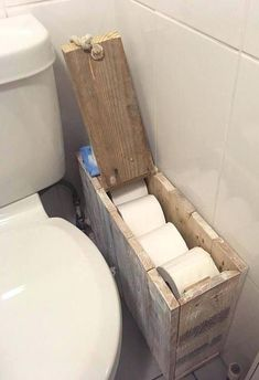 ★★ Rustic Shabby Chic Bathroom Storage Box ★★ If you order this ., box Rustic Shabby Chic Bathroom Storage Box ★★ Made to Order .Defining a Style Series: What Is Shabby Chic Design? Shabby Chic Toilet, Rustic Shabby Chic, Shabby Chic Homes, Rustic Farmhouse, Rustic Decor, Rustic Style, Farmhouse Lighting, Farmhouse Ideas, Bathroom Storage Boxes