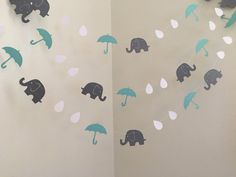 Sprinkle Party decoration Raindrops Elephants by ClassicBannersSprinkle Party…