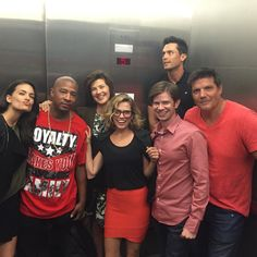Pin for Later: This Huge One Tree Hill Reunion Will Give You the Warm and Fuzzies The cast was so excited to see each other, they even took a group picture in the elevator. Montreal, One Tree Hill Cast, Bethany Joy Lenz, Torrey Devitto, Step Up Revolution, Beau Mirchoff, Best Friend Photography, Chad Michael Murray, Everything