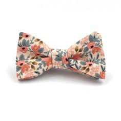 Mrs Bow Tie Vintage Floral Bow Ties