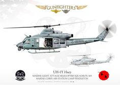 "UNITED STATES MARINE CORPS MARINE LIGHT ATTACK HELICOPTER SQUADRON 369 ""GUNFIGHTERS"" MARINE CORPS AIR STATION CAMP PENDLETON"