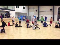 Besøg af Viborgs Elitehold på Sorø Gymnastikefterskole 2013