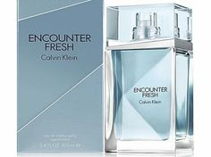 Calvin Klein  ENCOUNTER FRESH FOR MEN 100ML EAU DE TOILETTE SPRAY A refreshing version of the original Encounter fragrance for men. Opening with notes of bergamot and Mojito. Middle notes are cardamom, rum and lavender. Encounter Fresh (Barcode EAN = 5060308066691) http://www.comparestoreprices.co.uk/perfumes/calvin-klein-encounter-fresh-for-men-100ml-eau-de-toilette-spray.asp