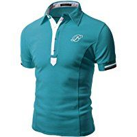 Doublju Mens Stylish Casual Slim Fit Plus Size Short Sleeve Polo T-shirt Important: please be noted that the size values in the option are based on the Asian standard, if you do not match, please select a larger option for choosing your right size. Polo T Shirts, Henley Shirts, Casual T Shirts, Men Casual, Casual Attire, Kurta Pajama Men, Mens Sleeve, Printed Shirts, Shirt Style