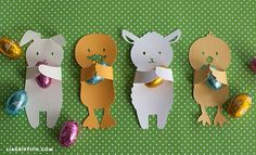 DIY Easter Candy Huggers