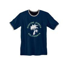 Pyžamové tričko s potlačou a krátkymi rukávmi | blancheporte.sk #blancheporte #blancheporteSK #blancheporte_sk #zimnákolekcia #vypredaj #zlavy Surfing, Mens Tops, T Shirt, Fashion, Supreme T Shirt, Moda, Tee Shirt, Fashion Styles, Surf