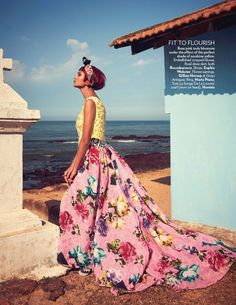 Tropic Thunder | Vogue India March 2014 | Charlotte Dias + more by Abhay Singh [Editorial]