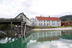 Kjerringøy trading post, cultural heritage in northern Norway