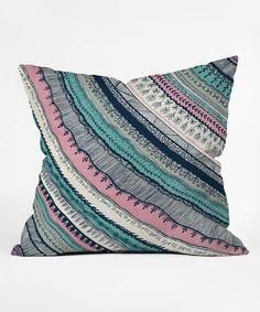 Look at this #zulilyfind! RosebudStudio Live Free Fleece Throw Pillow #zulilyfinds