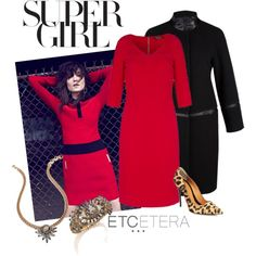 A fashion look from October 2013 featuring leopard print shoes, holiday jewelry and modern home decor. Browse and shop related looks. I See Red, Leopard Print Shoes, Cute Outfits, Dressy Outfits, Classic Looks, Dress To Impress, Fashion Dresses, Nyc, Fashion Looks