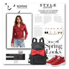 """ROMWE 9/XIII"" by belmina-v ❤ liked on Polyvore featuring H&M and adidas Originals"