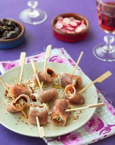 mini roul s tomates s ch es olives parmesan recipe french cuisine tapas and parmesan. Black Bedroom Furniture Sets. Home Design Ideas