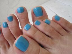 OPI Forgot my Czech Book - What I got for my latest Pedi :)