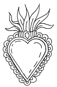 CORAZONES MEXICANOS PLANTILLAS Y DIBUJOS Mexican Graphic Design, Mexican Designs, Embroidery Hearts, Embroidery Patterns, Aluminum Can Crafts, Star Tattoo Designs, Catholic Crafts, Metal Embossing, Tin Art