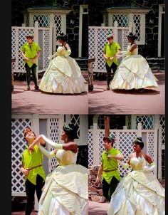 Tiana: Where are your manners child? Putchya arm out boy, and walk a lady like ya are supposed too!  Peter: ......ok as long you don't give me any thimbles!