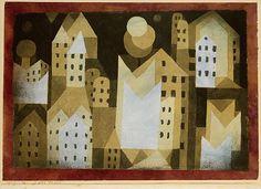 Paul Klee (German (born Switzerland), 1879–1940). Cold City,  1921. The Metropolitan Museum of Art, New York. The Berggruen Klee Collection, 1987 (1987.455.8)