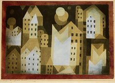 Paul Klee (German (born Switzerland), 1879–1940). Cold City,  1921. The Metropolitan Museum of Art, New York. The Berggruen Klee Collection, 1987 (1987.455.8)