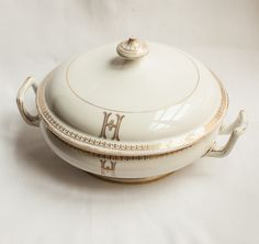 19thc. C.H Pillivuyt French Porcelain Tureen