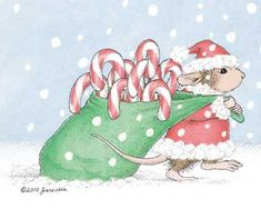 """Mudpie featured on The Daily Squeek® for December 5th, 2014. Click on the image to see it on a bunch of really """"Mice"""" products."""