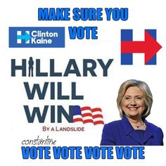 You've got to vote!  It's imperative this year!!!!