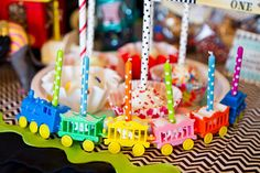 {Miss Party Mom's} Client Circus Dessert Table