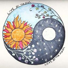 Idk what it is about Suns, Moons and stars. I'm drawn to their beauty and hidden meaning.