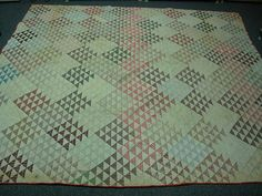 Antique 1800s Hand Stitched Quilt