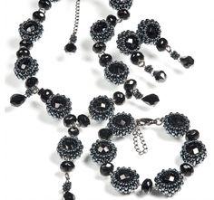 Pattern bijoux: Parure Elegance with twin