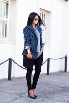 Blue And Black Cheetah Coat  # #Walk In Wanderland #Fall Trends #Fashionistas #Best Of Fall Apparel #Coat Cheetah #Cheetah Coats #Cheetah Coat Blue and Black #Cheetah Coat Clothing #Cheetah Coat 2014 #Cheetah Coat Outfits #Cheetah Coat How To Style