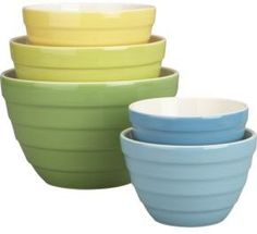 Parker Bowl Set of 5 Sp'12