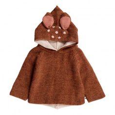 Baby Alpaga Bambi Burnou Caramel  Oeuf NYC