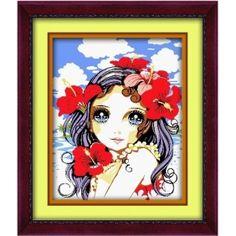 Lovely Teengirl Paint by Number Kit LG7065